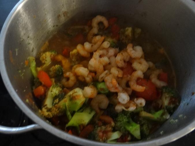 Nudeln,Garnelen,Gemüse (8)