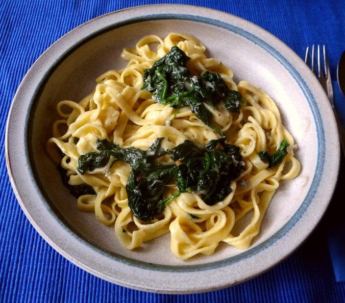 Nudeln,Spinat,Gorgonzola (2)