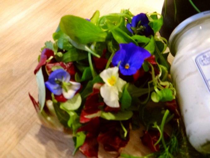 Quark und bunter Salat (5)
