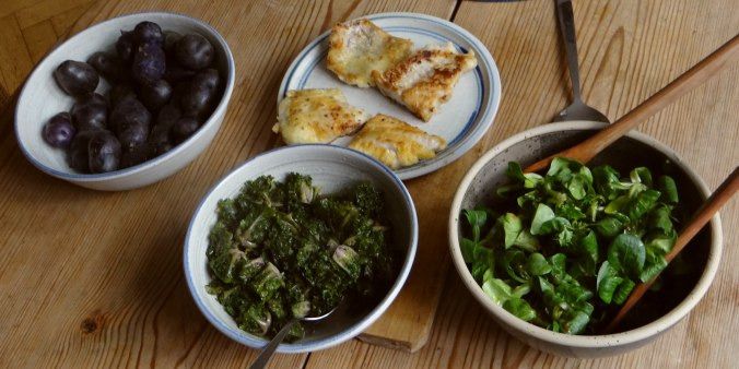 Rotbarsch,Kohlröschen,violette Kartoffeln (16)