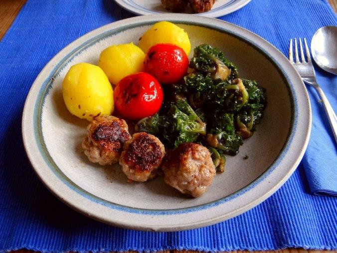 Kohlröschen,Tomaten,Mettbällchen (11)