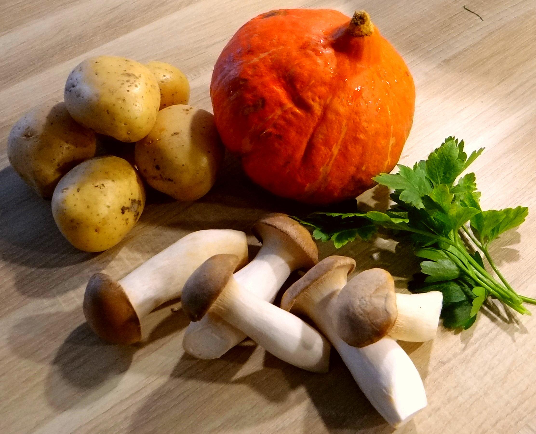 Kräuterseiling,Kartoffel Spalten,Kürbispüree (5)