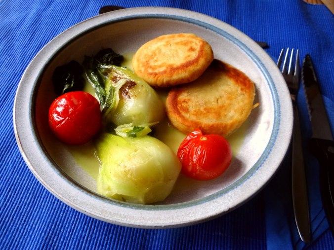 Pak Choy,Kartoffeltaler,Quarkspeise (10)