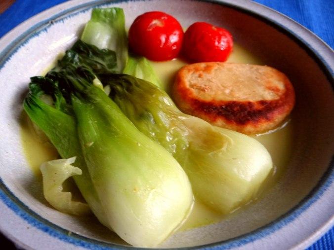 Pak Choy,Kartoffeltaler,Quarkspeise (2)