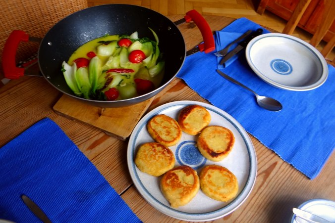 Pak Choy,Kartoffeltaler,Quarkspeise (4)