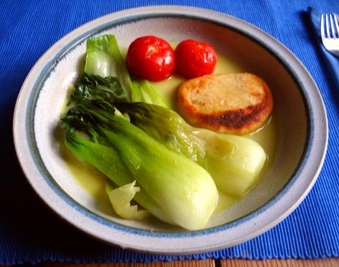 Pak Choy,Kartoffeltaler,Quarkspeise (9)
