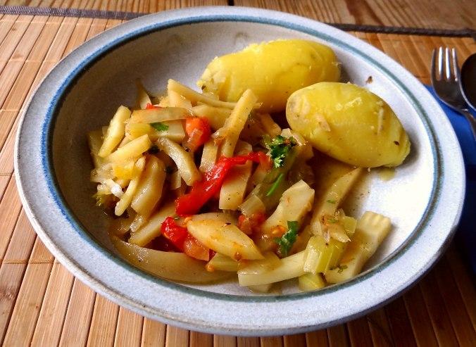 Pastinaken Gemüse,Kartoffeln, (10)