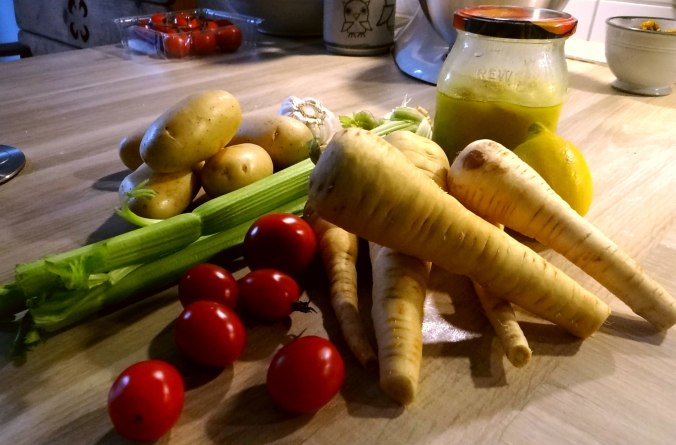 Pastinaken Gemüse,Kartoffeln, (5)