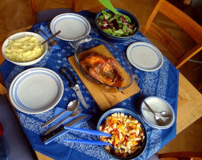 Perlhuhn,Kartoffel-Selleriestampf,Salat,Obstsalat (14z) (4)