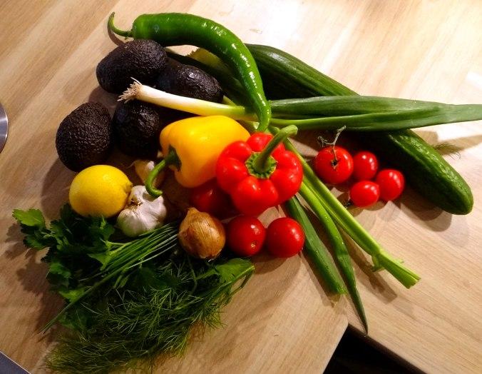 Salat,Schafskäse,blaue Kartoffel (3)